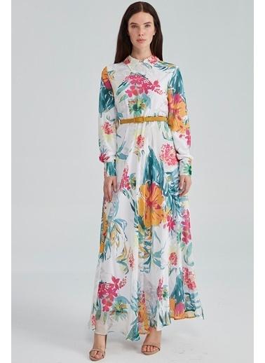 Vivencia Elbise Beyaz